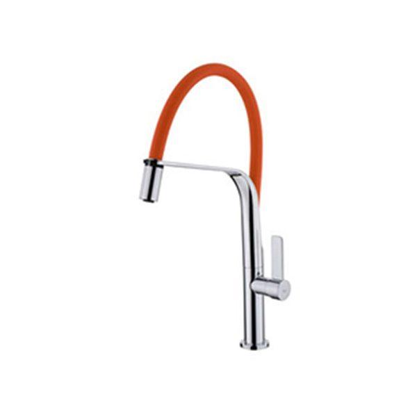 Vòi rửa bát Teka Formentera 997 màu cam
