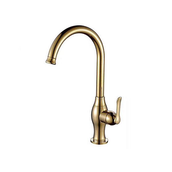 Vòi rửa bát màu đồng Cleanmax D1