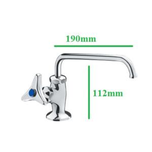 Vòi rửa bát nước lạnh inax LF-14-13