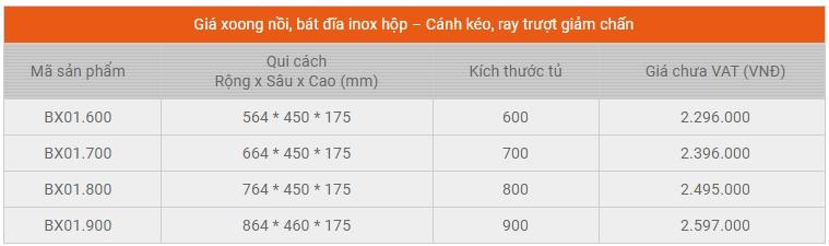 Garis BX01.600