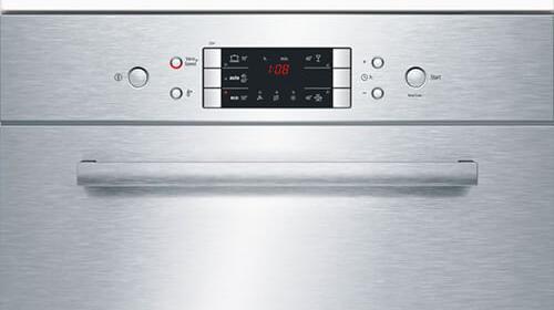 Hệ thống bảng điều khiển của máy rửa bát SCE52M65EU chính hãng