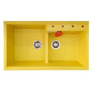 Chậu rửa bát đá nhân tạo Carysil TIP2 Yellow